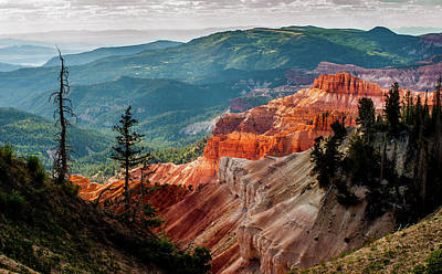 Photograph - Cedar Mountains From Cedar Breaks by TL Mair