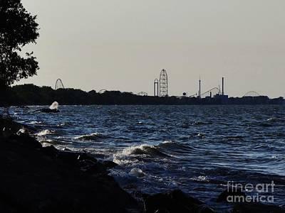 Photograph - Cedar Point Horizon by Mike Bruckman