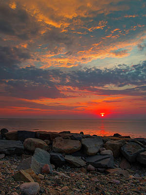 Photograph - Cedar Point Sunrise by John Forde