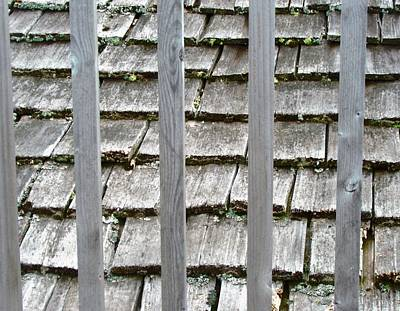 Photograph - Cedar Shingles by Stephanie Moore