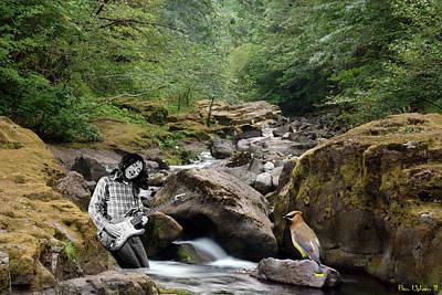 Photograph - Cedar Waxwing Serenade by Ben Upham