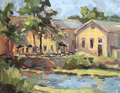Cedarburg Mill Art Print by Jenny Anderson