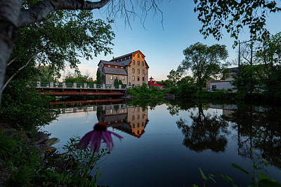 Photograph - Cedarburg Mill Summer Night by James Meyer