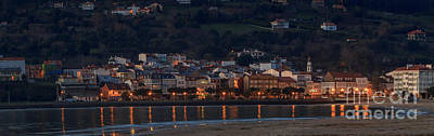 Photograph - Cedeira Town Panorama Galicia Spain by Pablo Avanzini