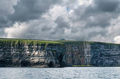 Photograph - Ceide Cliffs by Marion Galt