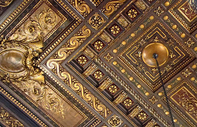 Photograph - Ceiling by Betsy Zimmerli