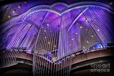 Photograph - Ceiling Decor In Las Vegas by Walt Foegelle