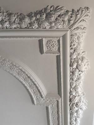 Photograph - Ceiling Detail by Georgia Hamlin