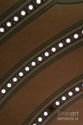 Photograph - Ceiling Lights by Ann Horn