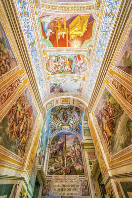 Photograph - Ceiling Of Scala Sancta by James Billings