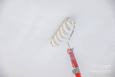 Photograph - Ceiling Paint Roller by Benny Marty