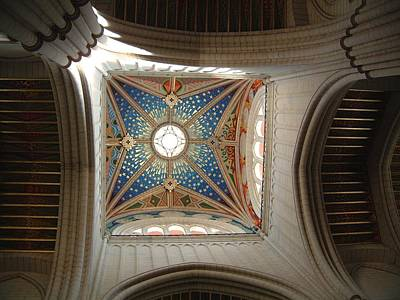 Photograph - Ceiling Spanish Church by Douglas Pike