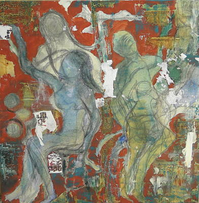 Celebrate Art Print by Gail Butters Cohen