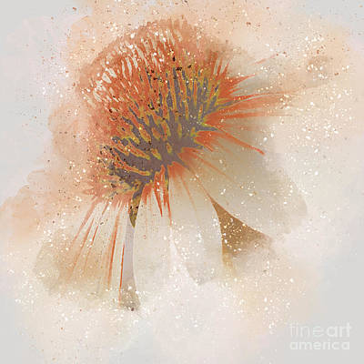 Abstracted Coneflowers Digital Art - Celebrate His Goodness by Beverly Guilliams