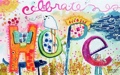 Painting - Celebrate Hope #2 by Deborah Burow