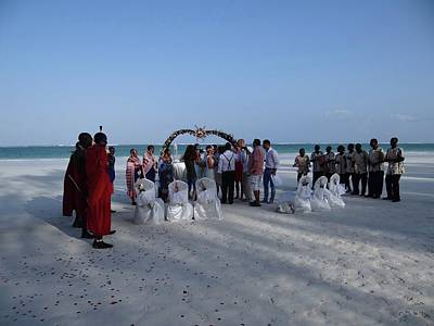 Exploramum Photograph - Celebrate Marriage On The Beach by Exploramum Exploramum