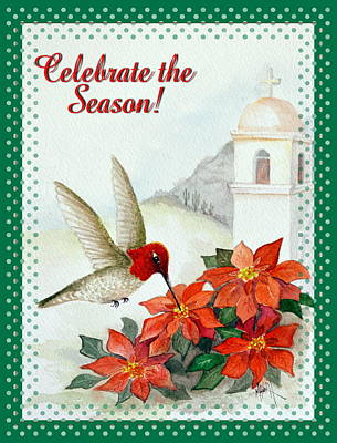 Painting - Celebrate The Season 3 by Marilyn Smith