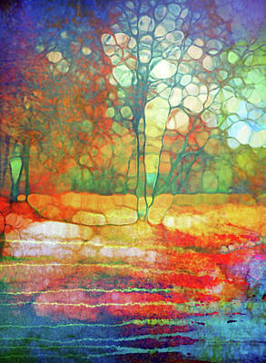 Digital Art - Celebrating The End Of Autumn by Tara Turner