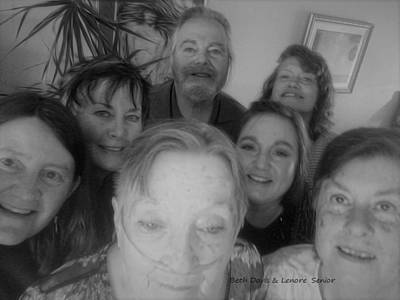 Digital Art - Celebrating With Friends by Lenore Senior