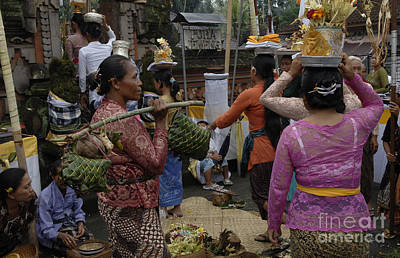 Photograph - Celebration Bali Indonesia 2 by Bob Christopher