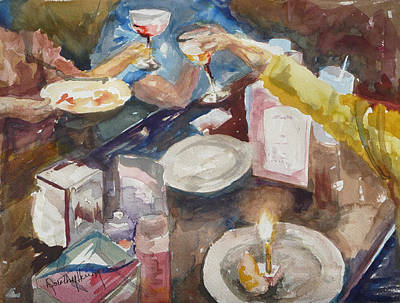 Painting - Celebration by Dorothy Herron
