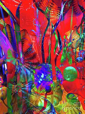 Digital Art - Celebration by Laurel D Rund