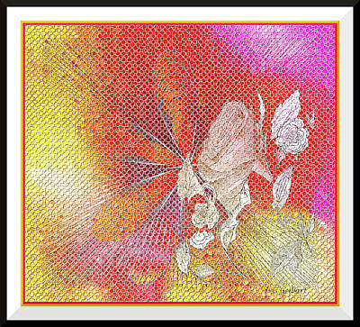 Digital Art - Celebration Mosaic by Iris Gelbart