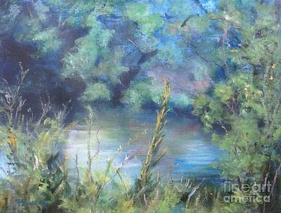 Celebration Of Solitude Art Print by Mary Lynne Powers