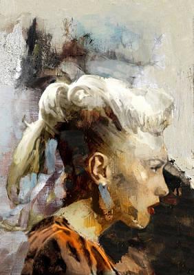 Jay Z Drawing - Celebrity / G Stefani 4 by Jani Heinonen