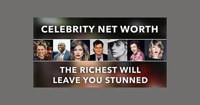 Beverly Hills Mixed Media - Celebrity Net Worth Totals That Will Blow Mind by Velvet Ropes