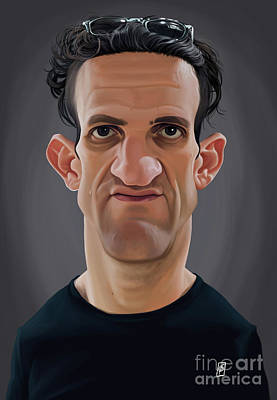 Digital Art - Celebrity Sunday - Casey Neistat by Rob Snow