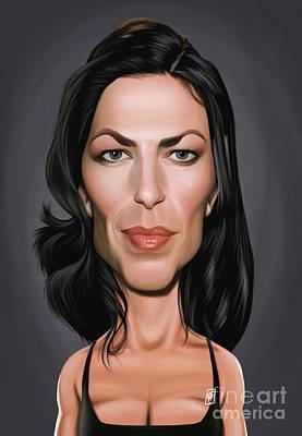 Digital Art - Celebrity Sunday - Claudia Black by Rob Snow