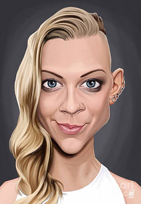Digital Art - Celebrity Sunday - Natalie Dormer by Rob Snow