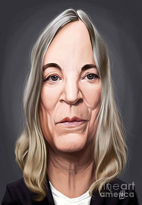 Digital Art - Celebrity Sunday - Patti Smith by Rob Snow