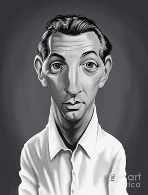 Digital Art - Celebrity Sunday - Robert Mitchum by Rob Snow