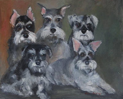 Painting - Celeste's Babies by Carol Berning