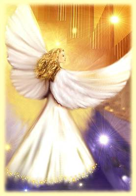 Celestial Angel Art Print