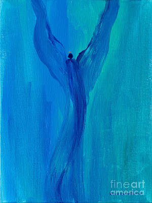 Painting - Celestial Angel by Robin Maria Pedrero
