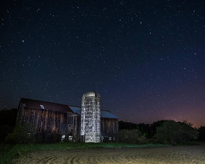 Photograph - Celestial Barn by Chris Bordeleau