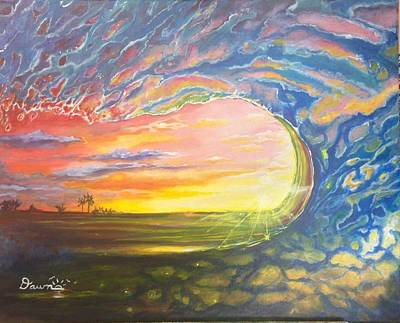 Painting - Celestial Break by Dawn Harrell