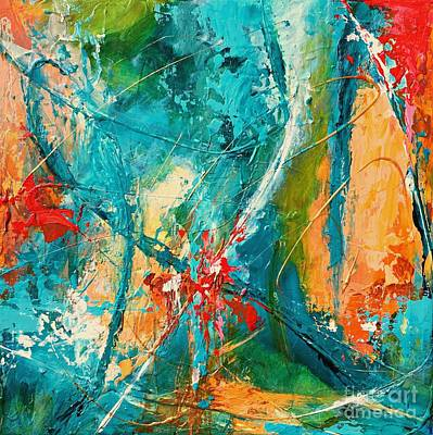 Painting - Celestial Choir No 1 by Mary Mirabal