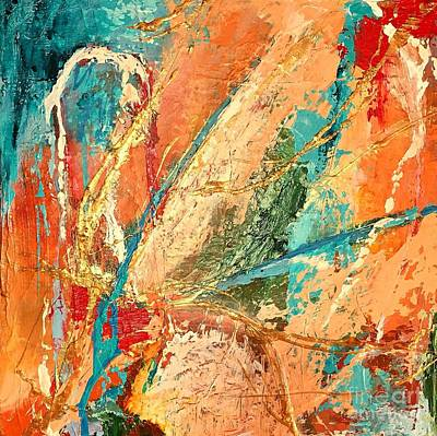 Painting - Celestial Choir No 2 by Mary Mirabal