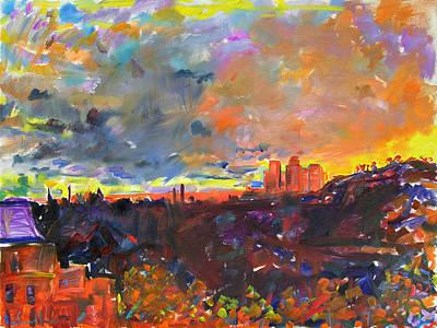 Painting - Celestial Events IIi by Zolita Sverdlove