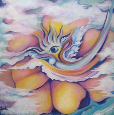 Celestial Eye Art Print