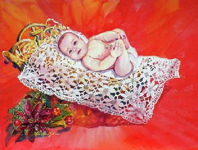 Celestial Grace Art Print by Estela Robles