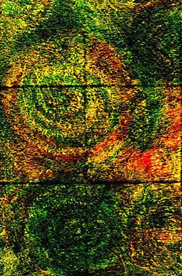Celestial Painting - Celestial Grid by Wayne Potrafka