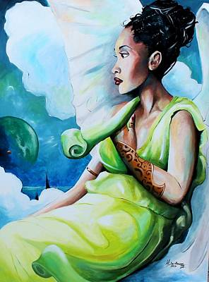 Painting - Celestial Hope by Henry Blackmon