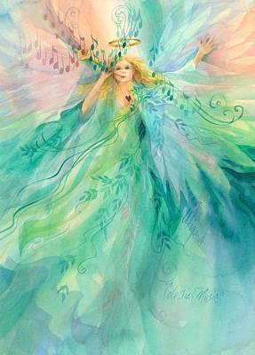 Painting - Celestial Music by Carolyn Utigard Thomas