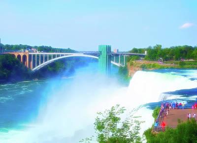 Photograph - Celestial Skies Niagara Falls 11 by Aimee L Maher Photography and Art Visit ALMGallerydotcom