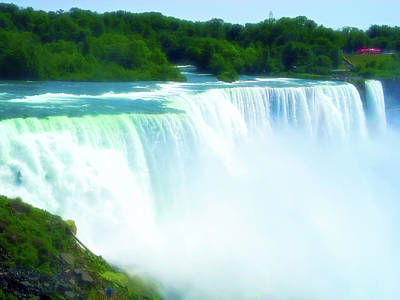 Photograph - Celestial Skies Niagara Falls 12 by Aimee L Maher Photography and Art Visit ALMGallerydotcom